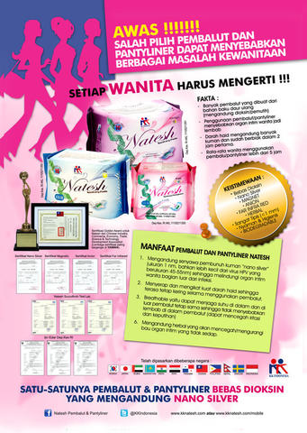 Natesh Pantyliner - Original - KK Indonesia