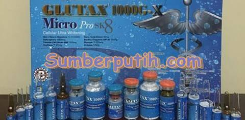 Glutax 1000G X Micro Pro SK Cellular Ultra Whitening