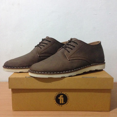 Sepatu Kulit / Leather Derby Shoes Flankers