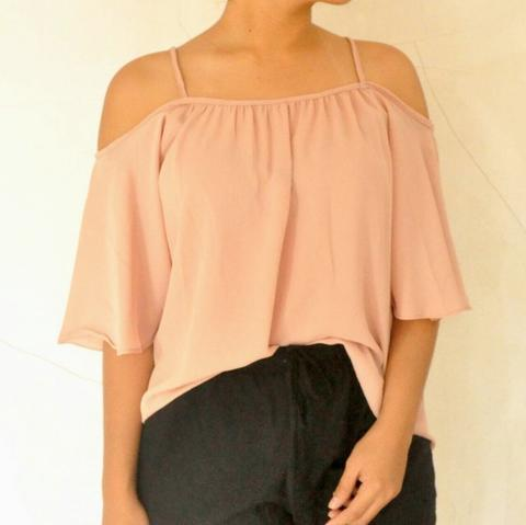Sabrina Top Pink and Navy
