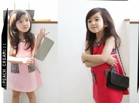 Dress Classic With Pocket Kid BR5024