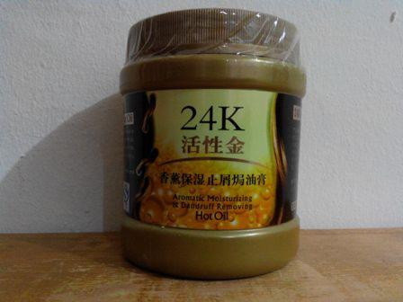 Masker Rambut Emas 24K ACTIVE GOLD HAIR MASK
