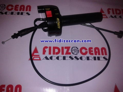 GAS SPONTAN KTC ON-OF HITAM, KABEL GASs