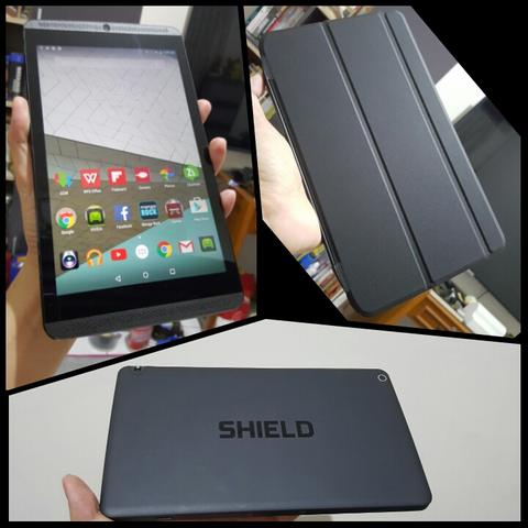 Shield Tablet ULTRA LANGKA! 4G LTE 32GB+Controller+Case (khusus gaming Tegra K1)