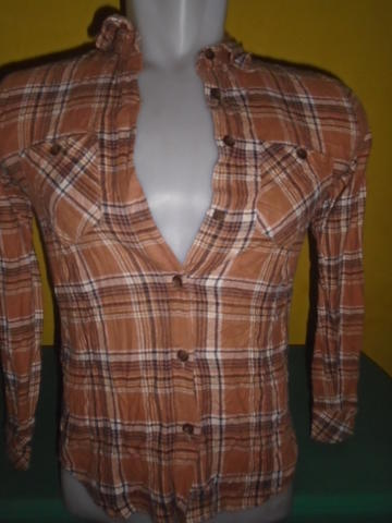 SIZE M,,KEMEJA FLANEL FOR WOMAN 140