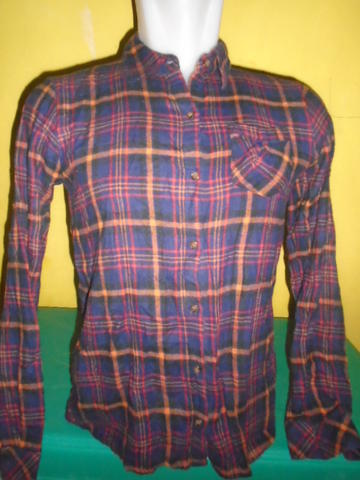 SIZE XS,,KEMEJA FLANEL FOR WOMAN CUTIE 300