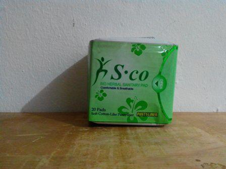 Pembalut Herbal Sco Day Use