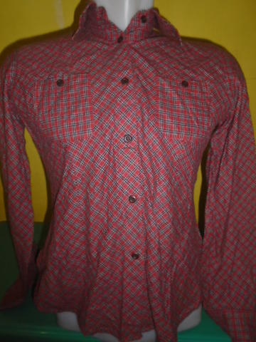 SIZE L,,KEMEJA FLANEL FOR WOMAN 222
