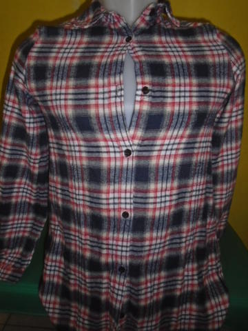 SIZE S,,KEMEJA FLANEL FOR WOMAN 318
