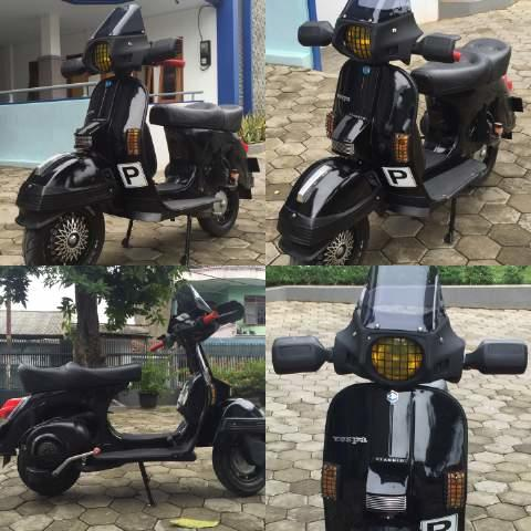 vespa px 83 look new px arcobaleno style