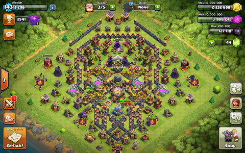 Jual COC Town Hall 11