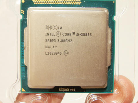 Processor intel i5 3550s @3.3Ghz, C6Mb LGA 1155