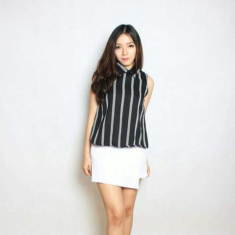 CORAL STRIPE Premium QUality TOP SELLER