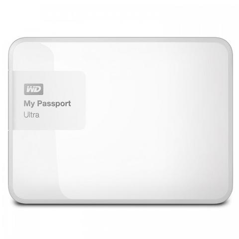 WD My Passport Ultra 2TB USB 3.0 - White
