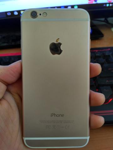Iphone 6 64gb gold mulus