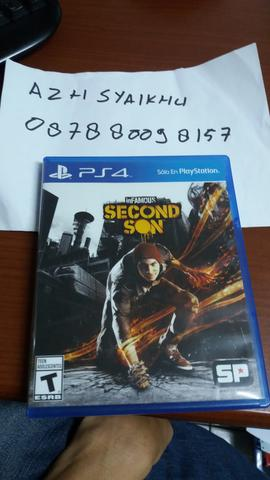 WTS BD INFAMOUS SECOND SON REG ALL