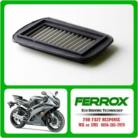 FERROX UNTUK YAMAHA YZF-R15 - STAINLESS STEEL AIR FILTER