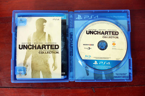 UNCHARTED COLLECTION PS4 REG 3