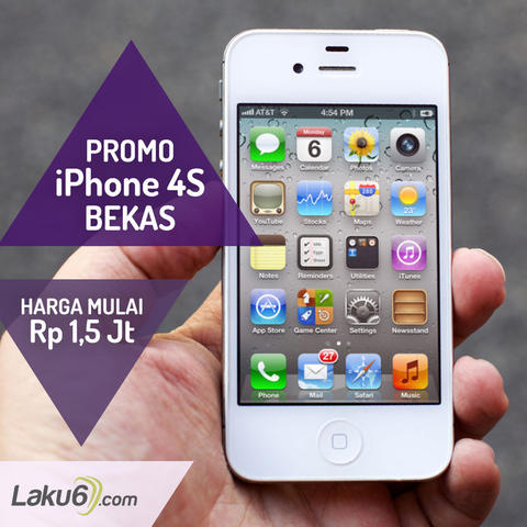 Terjual Iphone 4S 32GB (Bekas) Good Condition 34e563c4f8