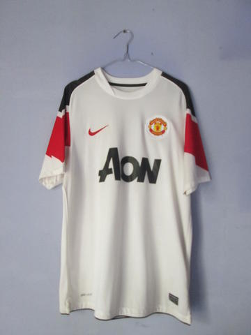 best sneakers ac51a 45caf TERJUAL WTS Jersey Manchester United ORIGINAL Second 2010/2011 Away