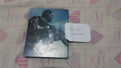 Bd ps4 second cod ghost steelcase