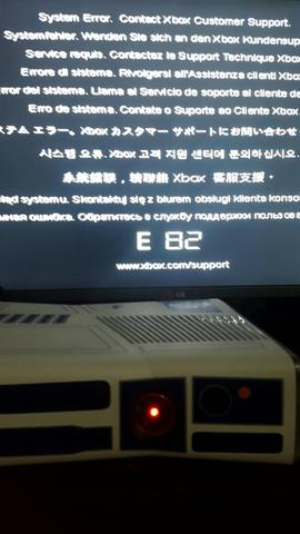 system error contact xbox customer support e82