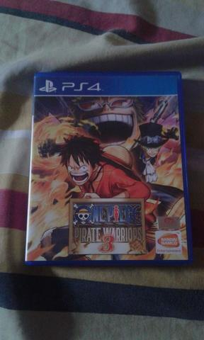 WTS BD PS4 One Piece Pirates Warriors 3 BD PS