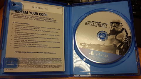 PS4 Games : BattleFront, Ride, BattleField-4