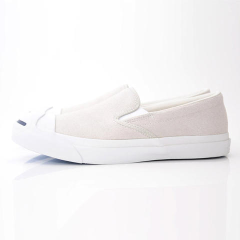 100% ORIGINAL CONVERSE JACK PURCELL SLIP-ON SUEDE SHOES SEPATU CASUAL not  nike ad9804aa14
