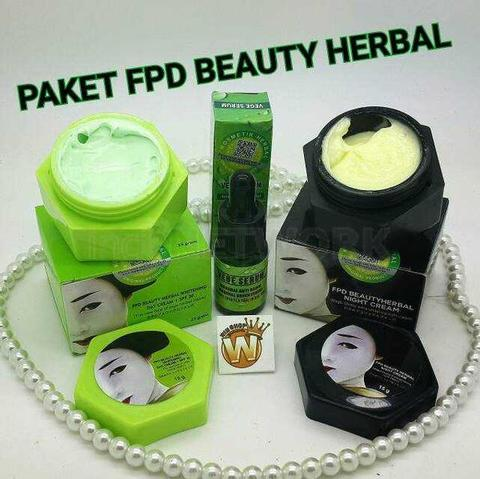 ... Magic Glossy Paket Day Cream Night Cream & Serum FPD Beauty Herbal 1 Paket Source Cream
