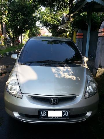 Terjual Honda Jazz Gd3 Idsi Matic Triptonic 2004 Metalic Brown Mulus