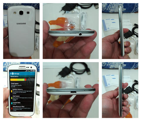 Samsung Galaxy SIII I9300 SEIN White Second Body Mulus
