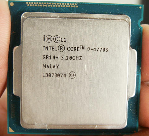 Processor Intel Haswell Core i7 - 4770s @ 3,10 Ghz Soket 1150 Murah