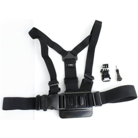 TMC Chest Harness Belt Strap with J-Hook Mount Set for GoPro & Xiaomi Yi