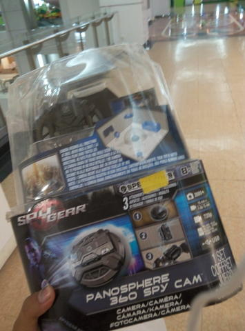 Terjual SPY GEAR PANOSPHERE 360-DEGREE SPY CAM  1b702d63db