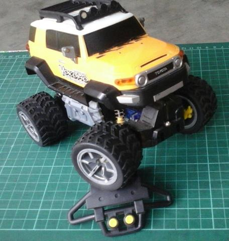 Auldey Race-Tin Big Wheel Drive : Toyota FJ Cruiser EP CONVERSION ARTR *RARE ITEM