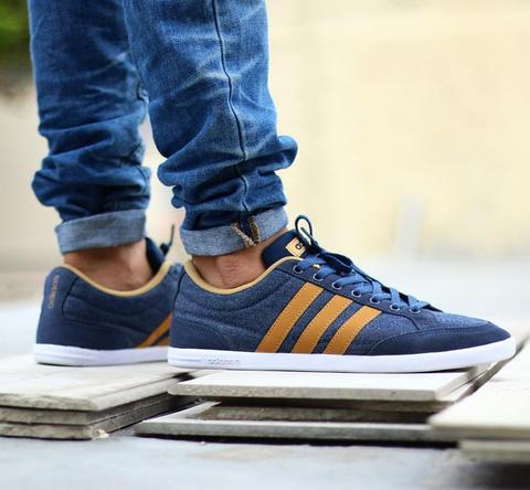 8ac6af14fe12 ... new style adidas neo caflaire denim 100 original made in indonesia  7be31 2c90f