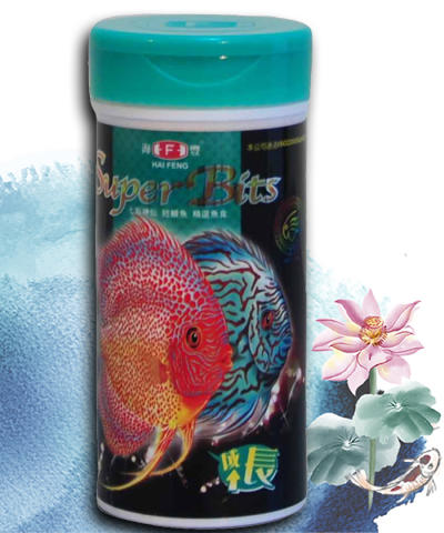 PAKAN IKAN HAI FENG DISCUS SUPER BITS GREEN GROW MAKANAN IKAN FISH FOOD PET FOOD