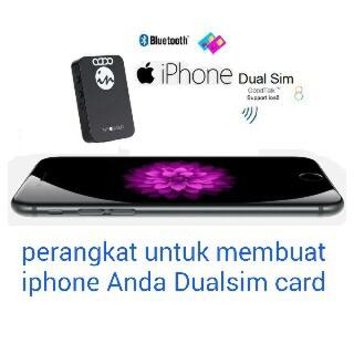 Perangkat Dua SIM untuk Apple iOS iPhone, iPad, iPod, iWatch GoodTalk