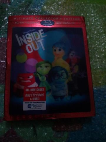 WTS blu ray original Inside Out US version