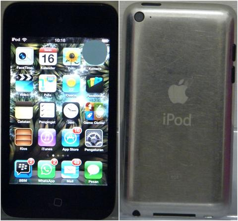 Apple IPOD 8Gb 4th Generation / Gen 4 Bekas Minus