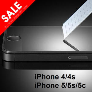 iPhone 4/4s & 5/5s/5c Tempered Glass Screen Guard
