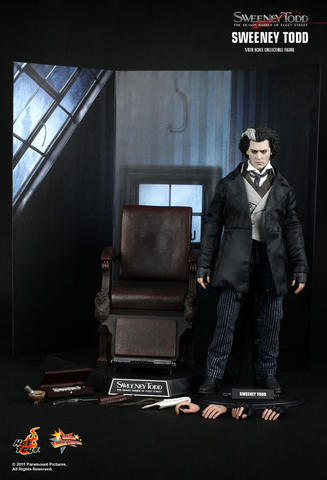 HOT TOYS SWEENEY TODD