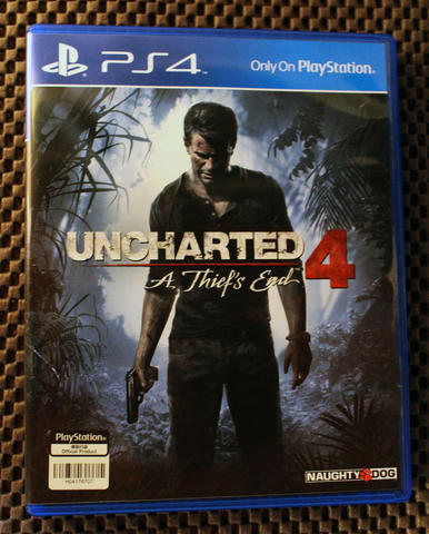 UNCHARTED 4 PS4 REG ALL