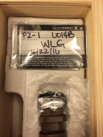 Seven Friday M2-2 dan P2-1 Original with invoice and warranty card