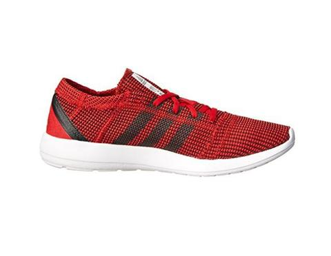 100% ORIGINAL ADIDAS ELEMENT REFINE TRICOT RED RUNNING SHOES no nike flyknit/boost