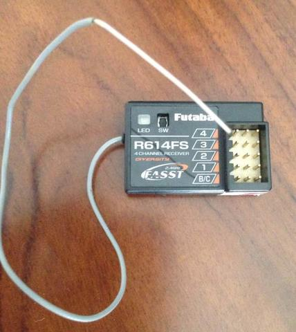 Charger Team Orion Race Spec + Power Supply Muchmore, Receiver Futaba R614FS & R614FF