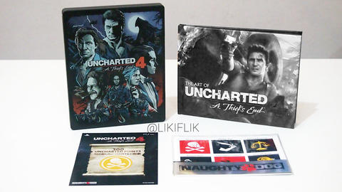 WTS Uncharted 4 Collection Edition