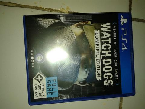 WTS BD PS4 PS 4 Watchdogs Complete Edition Region 3
