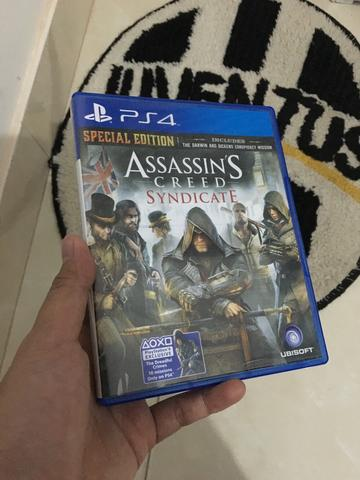 Assassins Creed Syndicate BD ps4